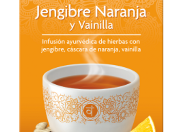Té jengibre, naranja y vainilla - Yogi tea