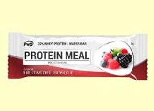 Barrita de proteína sabor frutos rojos