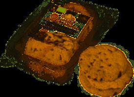 Galletas de espelta y chocolate  granel