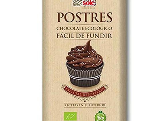 Chocolate para postre