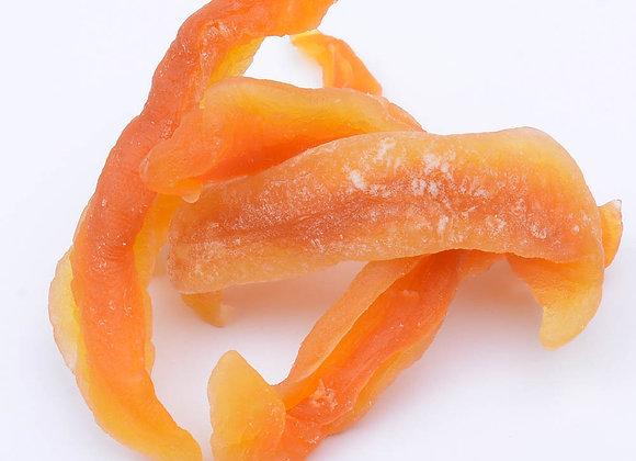 Melon cantalupe deshidratado sin azúcar