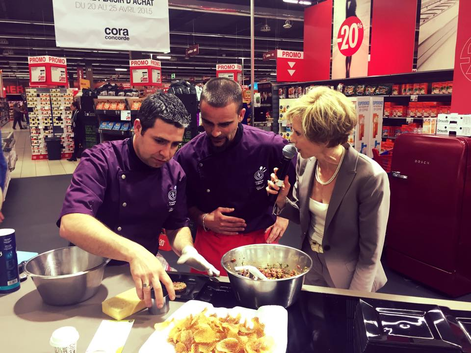 Live Cooking-Show, 25/04/2015
