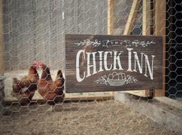Chick Inn Sign