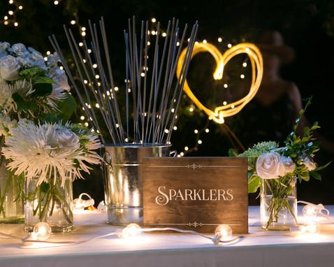Sparklers sign
