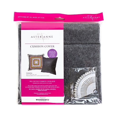 Cushion Cover felt kit Aster & Anne