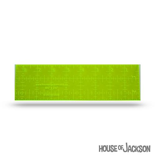 "House of Jackson 2 1/2"" x 8 1/2"" Mini ruler"