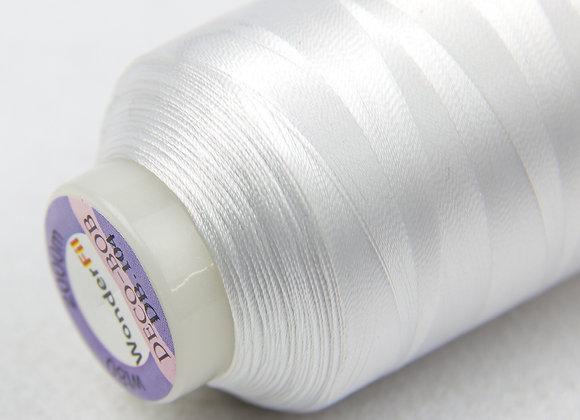 Wonderfil Deco-Bob 2000m Col:104 ( White )