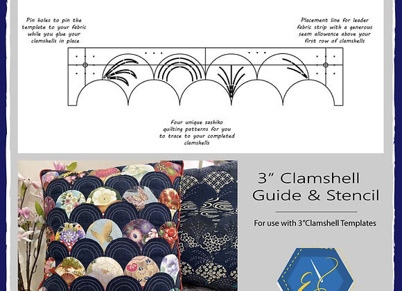 Clamshell guide