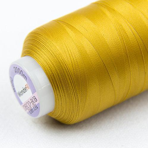Wonderfil Deco-Bob 2000m Col:131 (Dark gold )