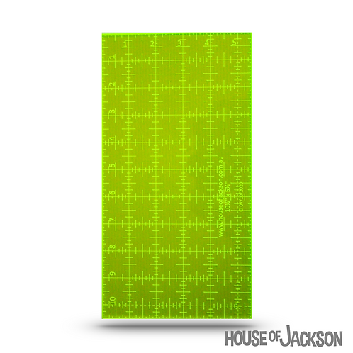 "House of Jackson Handy 10  1/2″ x 5  1/2"" Ruler"