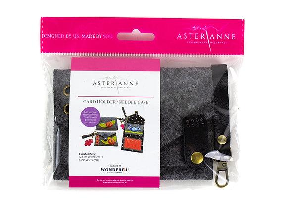Cardholder:needle case:key case Aster & Anne