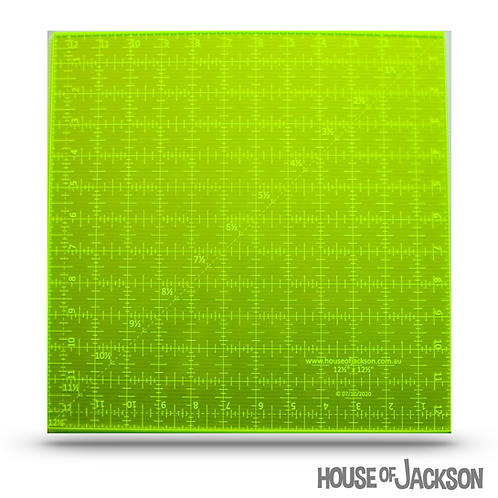"House of Jackson Mini 12  1/2"" square Ruler"