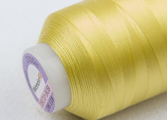 Wonderfil Deco-Bob 2000m Col:118 (Soft yellow )