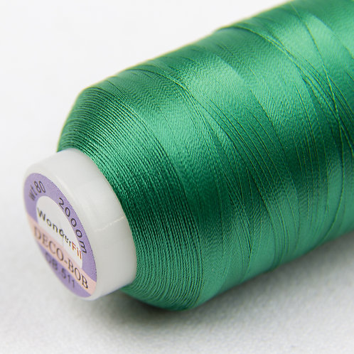Wonderfil Deco-Bob 2000m Col:511 ( Emerald green )
