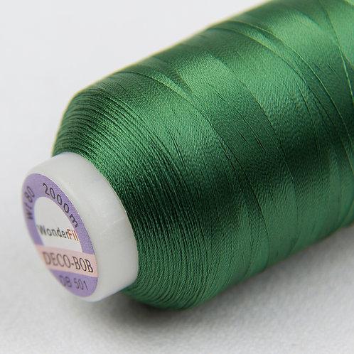 Wonderfil Deco-Bob 2000m Col:501 ( Evergreen )