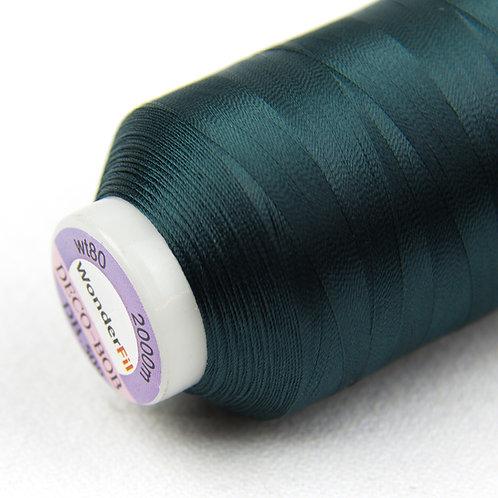 Wonderfil Deco-Bob 2000m Col:509 ( Dark green )