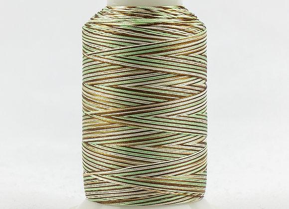 Wonderfil FabuLux Col:FB37 ( Mint Chocolate Chip) 700m spool