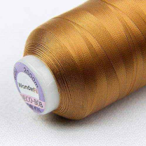 Wonderfil Deco-Bob 2000m Col:416 ( Dark copper )