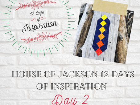 Day 2 - 1 pattern Manny possibilities  12 DAYS OF INSPIRATION