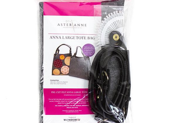 Anna large tote bag felt kit