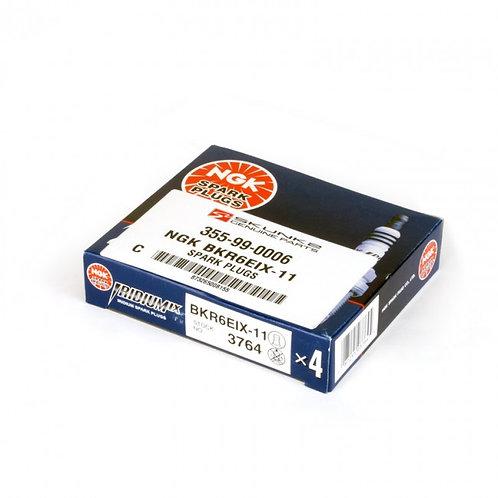 Spark Plugs - NGK IX Iridium BKR6EIX-11 - 4