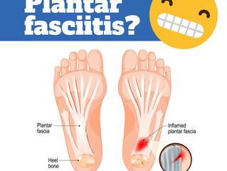 Injury blog:Plantar fasciopathy