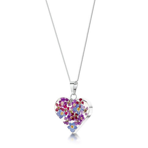 Sterling Silver Heart Pendent