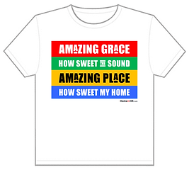 Amazing Place T-shirt Design 3 (Amazing Grace)