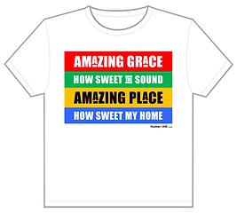 Amazing Place T-shirt Design 3 (Amazing Grace)
