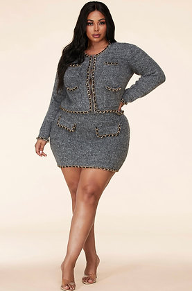 Edvige Skirt Suit B & V