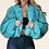 Thumbnail: Sonassa Thomas Turquoise Coat