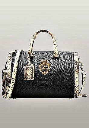 Viviane Leather Top Handle Bag