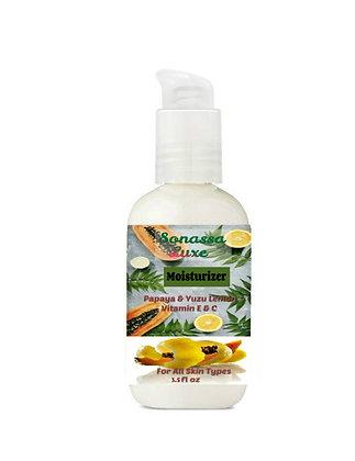 Sonassa Luxe Papaya & Yuzu Lemon Face Moisturizer
