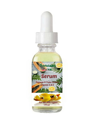 Sonassa Luxe Papaya & Yuzu Lemon Face Serum