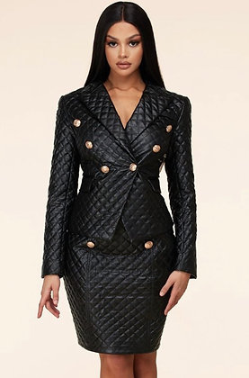 Quilted Suit Set
