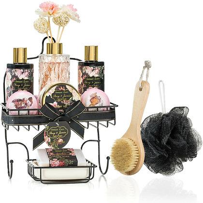 Sonassa Luxe Peony & Jasmine Spa Caddy