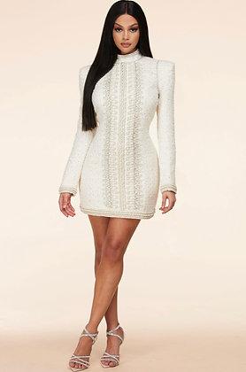Pearl Tweed Dress