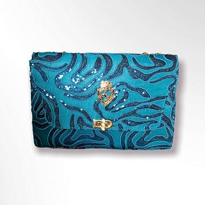 Sonassa Thomas Turquoise Fall Handbag