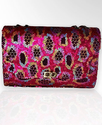 Sonassa Thomas Magenta Field Handbag