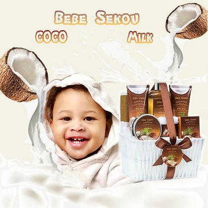 Bebe Sekou Coco Milk Spa Set