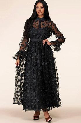 Sonassa Thomas Daisy Dress Black
