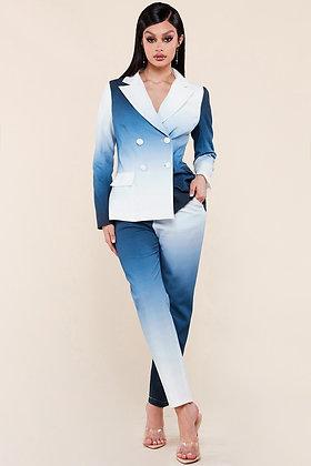 Blue Ombre Suit