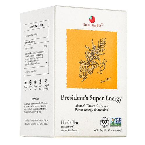 Health King President's Super Energy Herb Tea