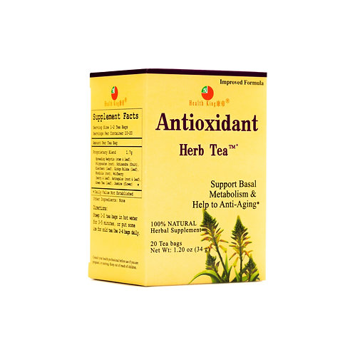 Health King Antioxidant Herb Tea - Detoxify & Help to Anti-Aging