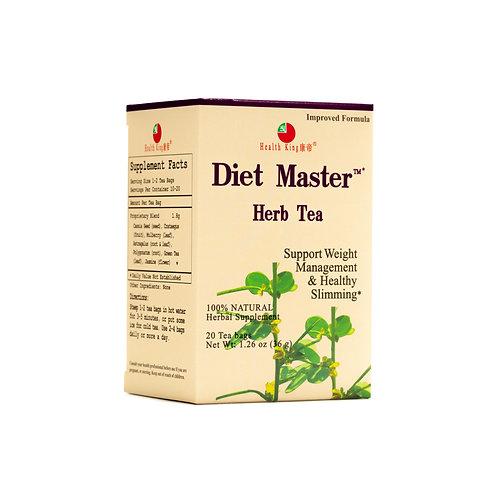 Health King Diet Master Herb Tea - Weight Management & Healthy Slimming