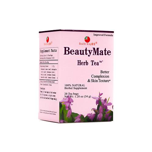 Health King Beauty Mate Herb Tea- Improve Complexion & Skin Texture