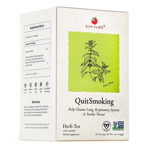 Health King Quit Smoking Herb Tea
