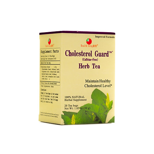 Health King Cholesterol Guard Herb Tea - Maintain Healthy Cholesterol Levels