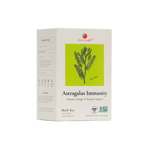 Health King Astragalus Immunity Herb Tea - Healthy Immune System Support