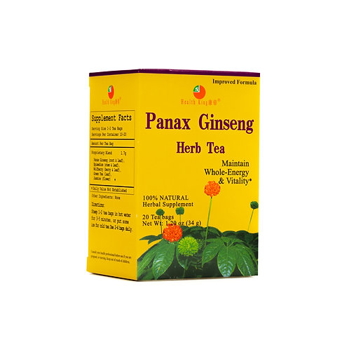 Panax Ginseng Herb Tea